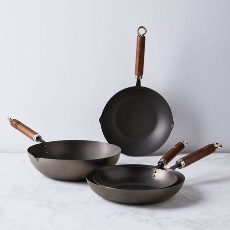 Japanese Carbon Steel Frying Pan