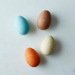 Heritage Wooden Eggs (Set of 4)