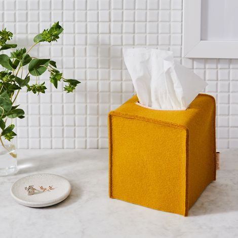 Felt Tissue Box Cover