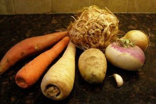 Kugel - Root vegetable medley