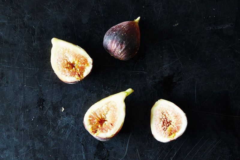 "On figs: ""I tore them apart. They were soft, the pink interior lazily revealing itself."""