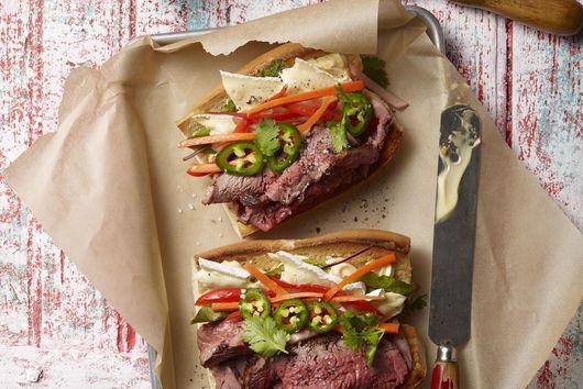 Aussie Grassfed Beef Banh Mi by Chef Roy Villacrusis