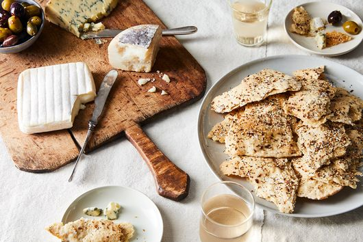 "Make Your Own Crackers, Win ""Best Cheese Plate"" Award"