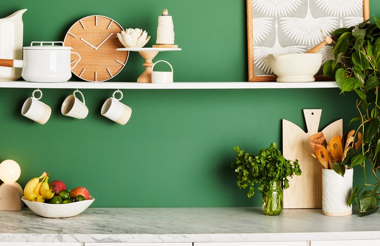 A Colorful New Way to Give Your Kitchen a Design Refresh