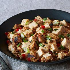 Ma Po Tofu (Stir-Fried Bean Curd with Ground Turkey)