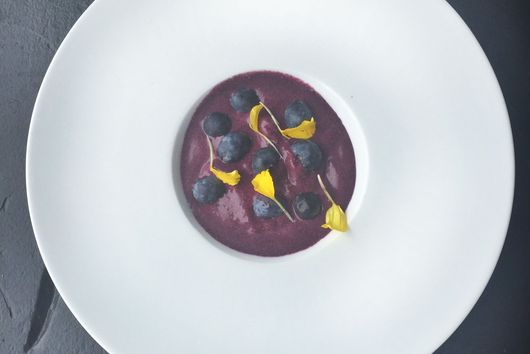 Blueberry Sherbet