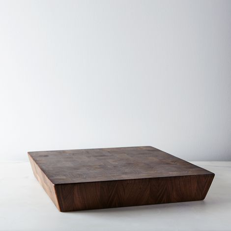 "Walnut End Grain Chopping Board (14"")"