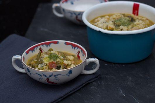 Vegetable Soup - (Minestrone Alla Genovese) - Liguria