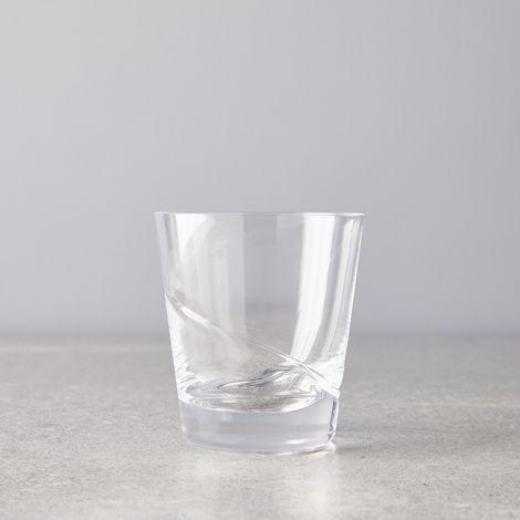 Hand Blown Japanese Swirl Glass