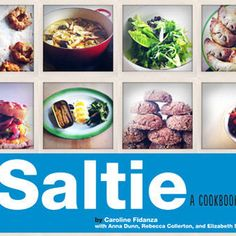 Caroline Fidanza, author of the Saltie Cookbook