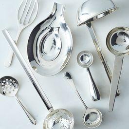 Silver-Plated Heirloom Serving Utensils