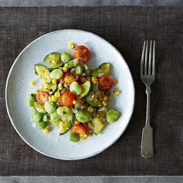 Summer Succotash + Green Rice