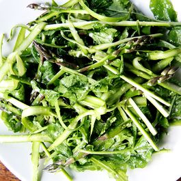 Canal House Shaved Asparagus and Arugula Salad