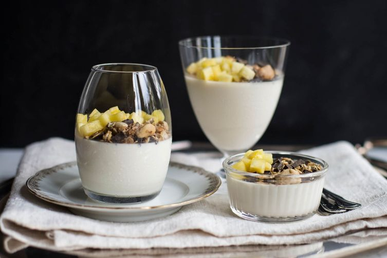 Pineapple Panna Cotta