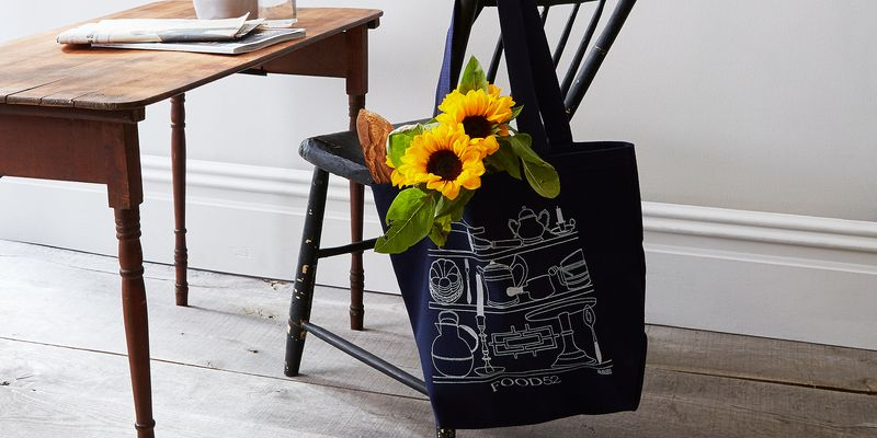The new limited-edition Food52 tote, featuring Claudia's design!