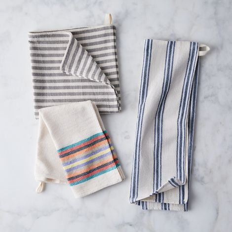Organic Cotton Turkish Hand Towels (Set of 2)