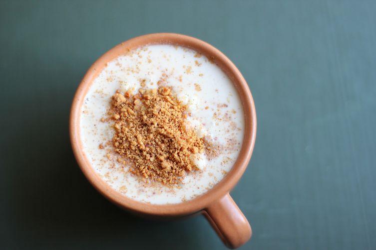 Brazilian white corn porridge