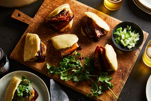My Love Is Like a Red, Red-Braised Pork Belly Bao Bun