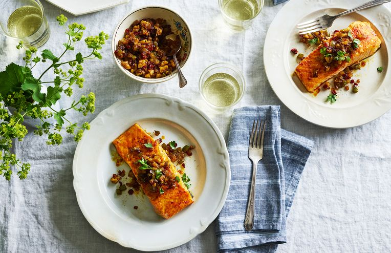 The Persian Salmon That Knocked the Socks Off My Norwegian In-Laws