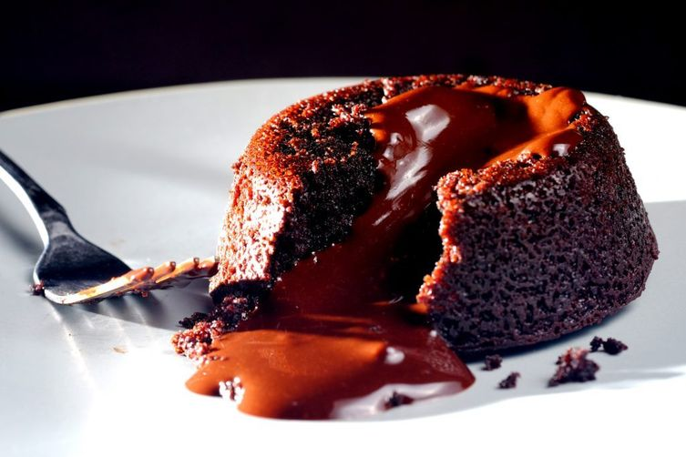 Vegan Chocolate Lava Cake