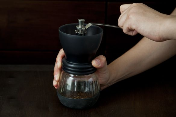 Grinding Coffee