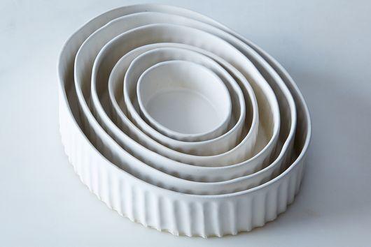 Oval Nesting Ramekins (Set of 6)