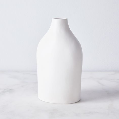 Handmade Porcelain Bottle Vase