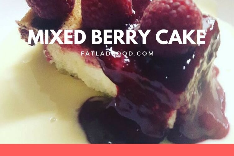 Mixed Berry Cake