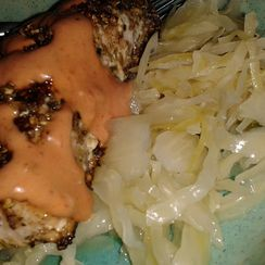 Salmon Pastrami Ruben Sandwich