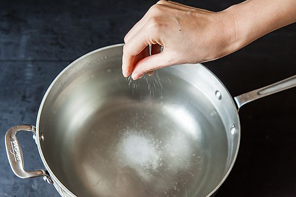 How to Salt Pasta Water