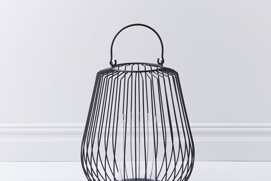 Modern Black Floor Lantern