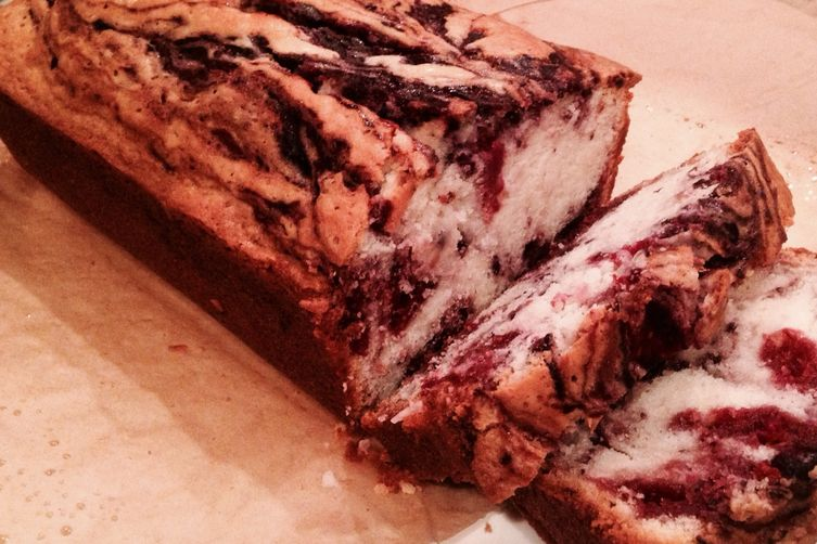 Swirly Berry Sweet Bread