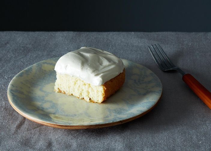 White Cake from Food52