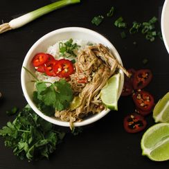 Thai Green Curry Pulled Pork Bowl