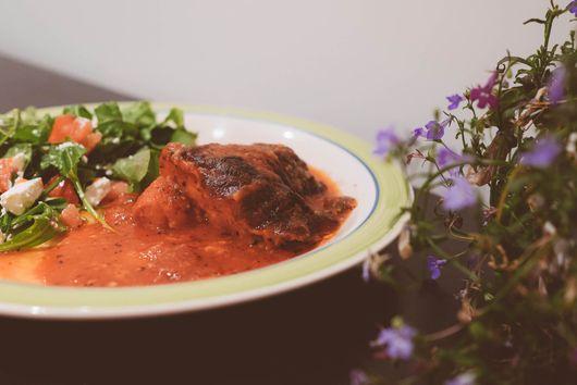 Baked Tomato and Mozzarella Chicken