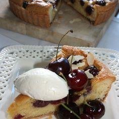 Black Cherry & Frangipane Tart