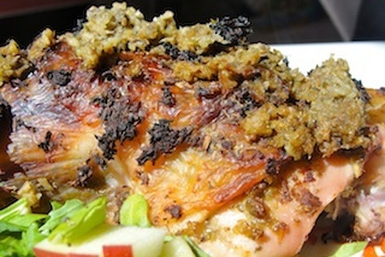 Passover Stuffed Chicken
