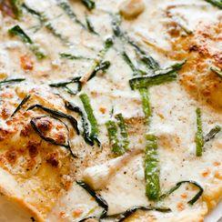Triple-Garlic Pizza