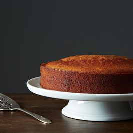Olive oil cake by porchapples