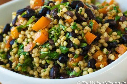 Sorghum Black Bean Salad