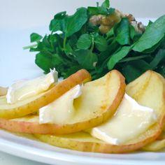 Insalata ai Mela ferri e Caldo Camembert