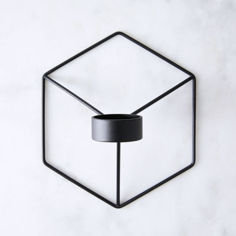Modern Polygon Wall Sconce