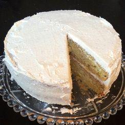 Lemon Summer Squash Olive Oil Cake