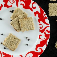 Black Pepper Oatcakes