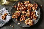 A Halfway-to-Granola-Bar Brittle with Maple, Buckwheat & Oats