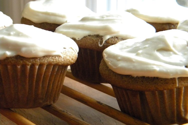 Coffee and Rye Cupcakes
