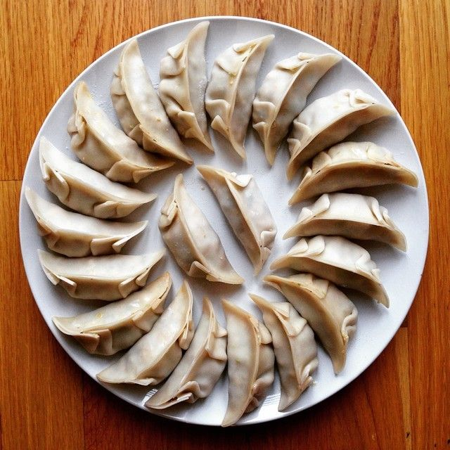 Dumplings to aspire to!