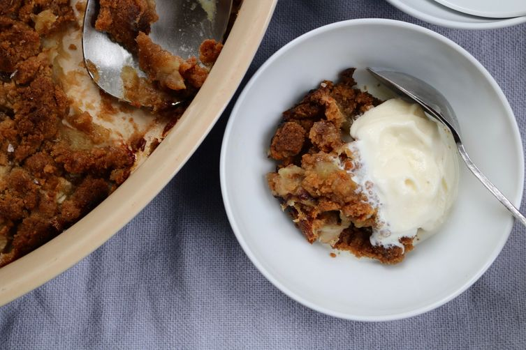 Laziest Apple Crisp