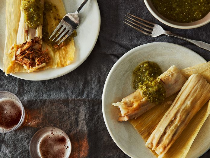 From-Scratch Pork Tamales Are the Cooking Project You've Been Looking For