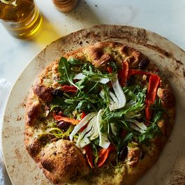 Ee9e4f88 b957 43ad bb47 825c71b2ae34  2017 0426 zaatar carrot and leek flatbread with almonds and fennel salad james ransom 320
